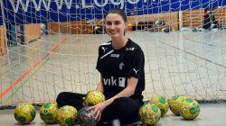 Handballverrückt: Amelie Bayerl gilt als das größte Talent der Region © Tobias Herrling