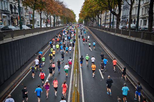 Gute Atmosphäre beim Halbmarathon. © privat