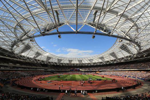 Im Londoner Queen Elizabeth Olympic Park findet die Weltmeisterschaft statt. © IAAF