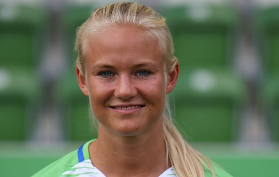 Die Dänin Pernille Harder bleibt dem VfL Wolfsburg bis 2020 erhalten. © VfL Wolfsburg
