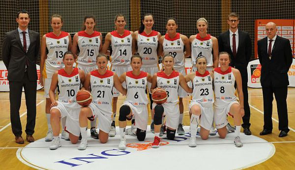 Deutsche Basketballerinnen siegen in der EM-Quali gegen die Schweiz. © DBB