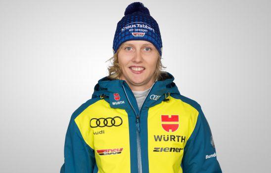 Julia Eichinger wird bei keinem Rennen mehr an den Start gehen. © DSV