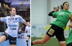 Iveta Luzumová (l.) und Merle Heidergott haben die besten Leistungen der Saison gezeigt. © Marco Wolf/hansepixx.de