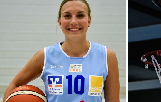 Marburgs Kapitänin Katie Yohn spielt auch in der kommenden Saison für den BC Pharmaserv Marburg. © Melanie Weiershäuser