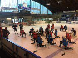Training für den amtierenden Meister im Bundesleistungszentrum Füssen. © Peter Gemsjäger