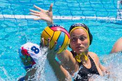 Belen Vosseberg im EM-Spiel gegen Russland. © DSV/MTB-Sports