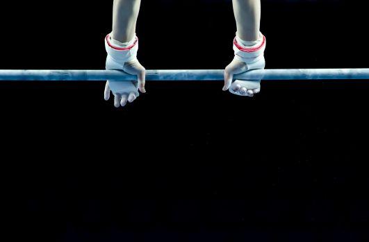 Fünf deutsche Turnerinnen zeigen bei den Europameisterschaften in Glasgow ihr Können. © privat