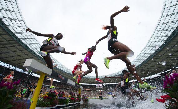 Die EM 2018 in Berlin steht in den Startlöchern. Vom 6. bis 12. August geht's im Olympiastadion um die Titel. © EM Berlin 2018