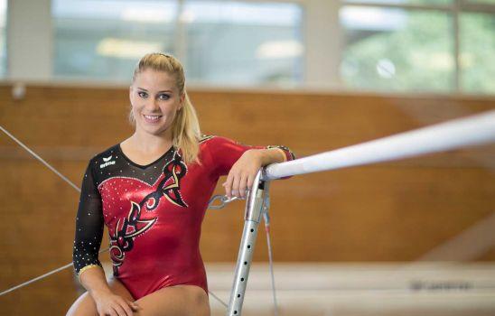 Elisabeth Seitz will nach ihrer Verletzungspause in Stuttgart wieder angreifen. © DTB/picture-alliance