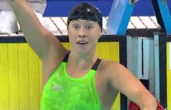 Sarah Köhler trainiert viel für ihre Leidenschaft: das Schwimmen. Und der Erfolg bestärkt sie. © Holger Drost