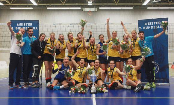 Auch in der kommenden Saison streben die Kölnerinnen die Meisterschaft an. © Anna Kadlec