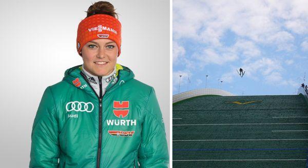 Olympiasiegerin und Weltmeisterin Carina Vogt geht nach ihrer Verletzungspause ebenfalls in Klingenthal an den Start. © DSV/Matthias.Gruber CC BY-SA 3.0,