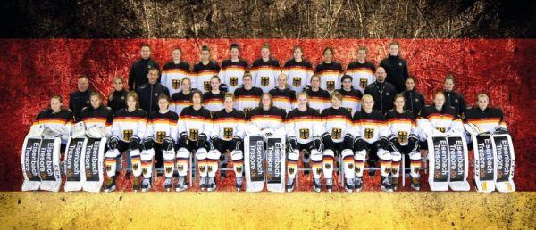 Die Frauen-Nationalmannschaft des DEB bereitet sich in Füssen auf die Länderspielsaison vor. © DEB