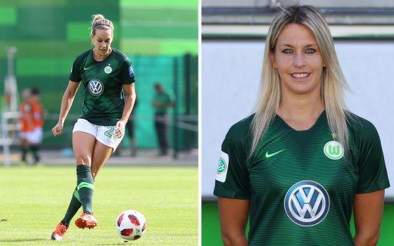 Weiter im grünen Trikot der Wölfinnen: Lena Goeßling hat ihren Vertrag verlängert. © regios24
