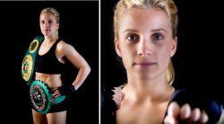 Bereit für den nächsten Kampf: Tina Rupprecht verteidigt ihren WM-Titel. © Tina Rupprecht