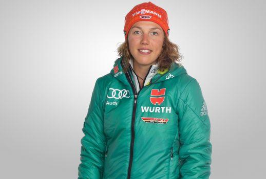 Biathletin Laura Dahlmeier muss aus gesundheitlichen Gründen noch länger pausieren. © DSV