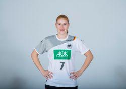 Starkes Spiel von Meike Schmelzer vom Thüringer HC. © Sascha Klahn/DHB