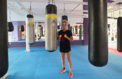 Voll motiviert steigt Tina Rupprecht am 15. Dezember in den Ring. © Sportfrauen
