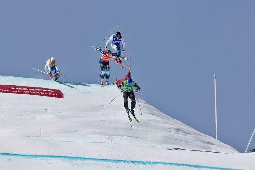 Die Skicross starten verspätet in die Saison. © Clément Bucco-Lechat - Own work, CC BY-SA 4.0