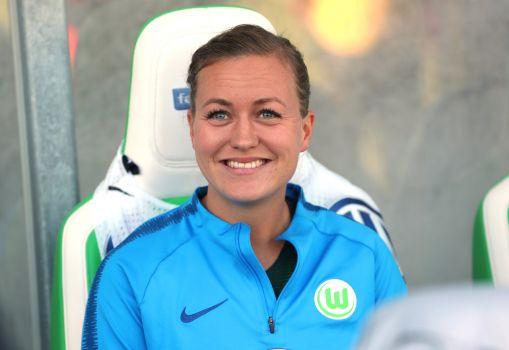Beim VfL Wolfsburg kickt Kristine Minde noch bis 2020. © VfL Wolfsburg