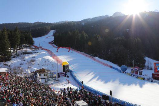 Beim Heim-Weltcup in Garmisch erwartetet die alpinen Fahrer eine tolle Kulisse. © Ski-Weltcup Garmisch