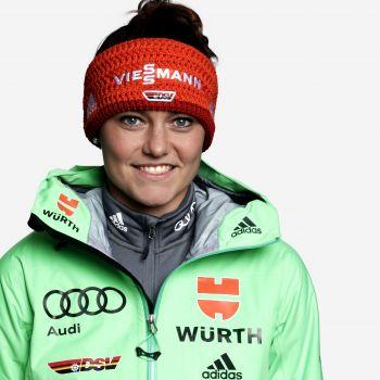 Carina Vogt ist gut in Form und will in Rumänien an ihre guten Leistungen anknüpfen. © DSV
