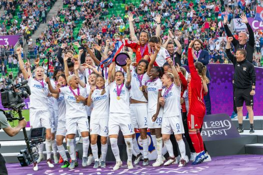 Olympique Lyon feierte 2019 den erneuten Titel bei der Champions League. © Steffen Prößdorf, CC BY-SA 4.0