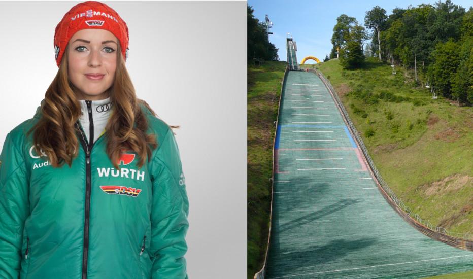 Unter anderem Juliane Seyfarth geht in Tschechien beim Einzelspringen an den Start. © DSV