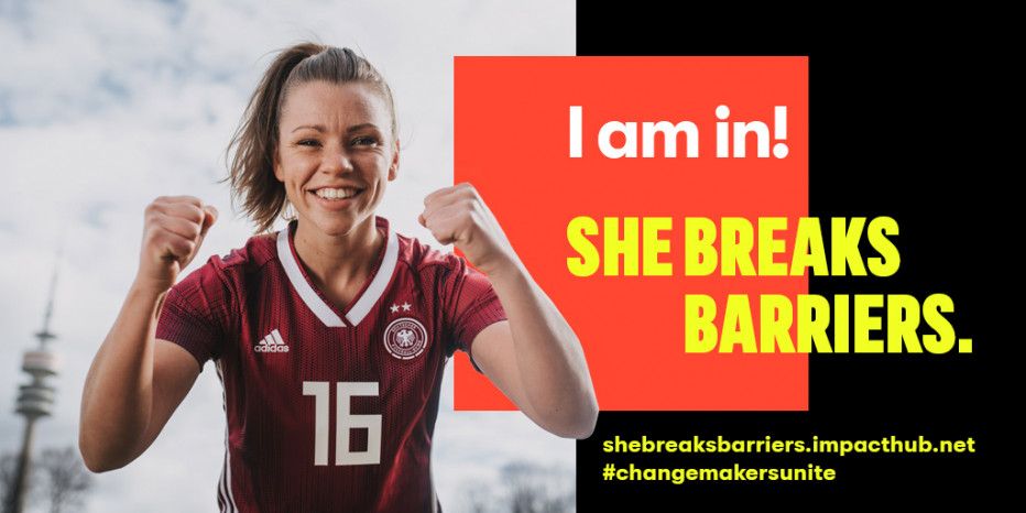 Sportfrauen ist unter den Finalisten des She breaks barriers Programms. © She breaks barriers