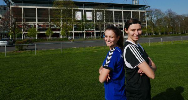 Lisa Kalina (v.l.) und Lisa Steffny berichten ab sofort auf Sportfrauen über Sportlerinnen aus ganz Deutschland. © fan von Dir