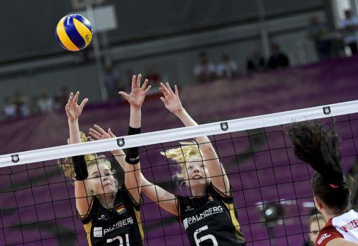 Die Viertelfinal-Partie gegen Polen war hart umkämpft. © CEV