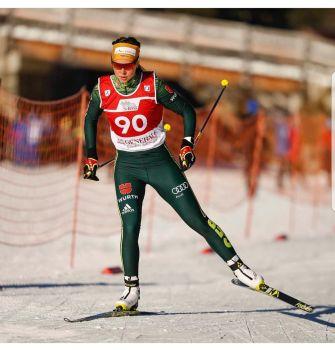Auch die Skilangläuferin Elisabeth Schicho vom SC Schliersee beendet ihre Karriere. © Schicho