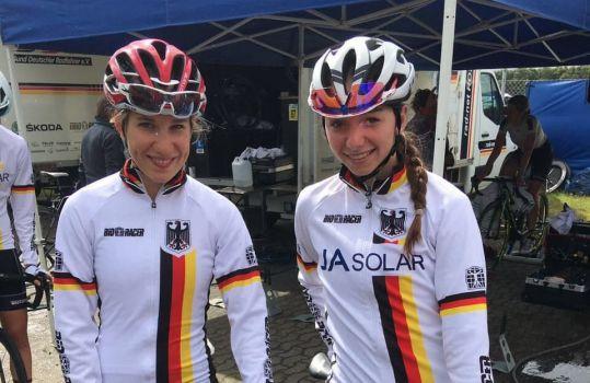 Mit Clara Koppenburg und Liane Lippert sind zwei Radfahrerinnen aus Friedrichshafen bei der WM dabei. © BDR