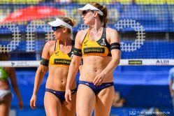 Karla Borger und Julia Sude reisen nach China zum FIVB Turnier. © www.tombloch.de
