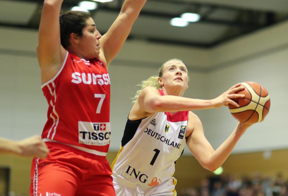 Marie Gülich tritt mit den DBB-Damen gegen Kroatien an. © DBB