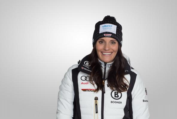 Christina Ackermann geht für den DSV in ihrer Paradedisziplin, dem Slalom, an den Start. © DSV