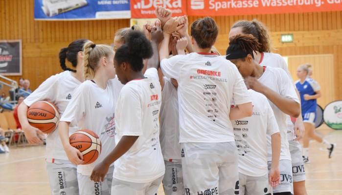 Der TSV Wasserburg steht im DBBL-Pokal-Viertelfinale. © Gabi Hörndl (Archiv)