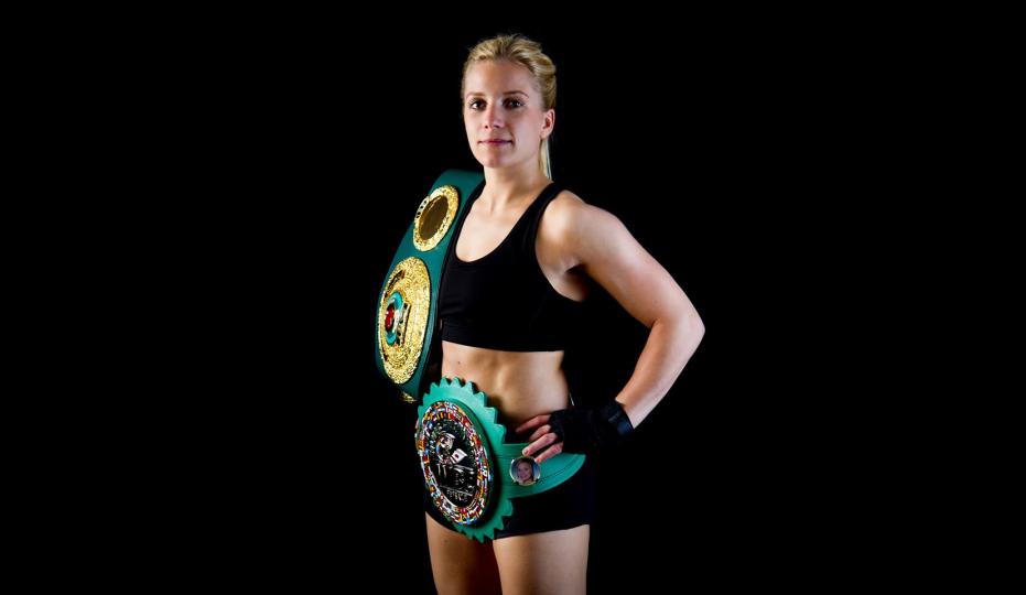 Tina Rupprecht gewinnt WBC-Weltmeisterkampf bei German Edition in Hamburg. © Tina Rupprecht (Archiv)