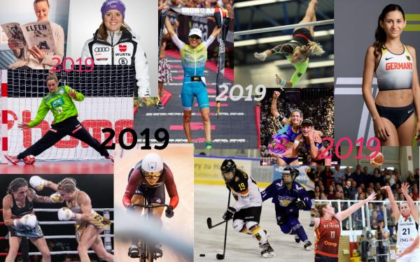 Zahlreiche Erfolge haben das Sportfrauenjahr 2019 geprägt. © Sportfrauen