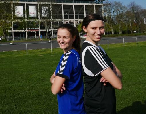 Lisa Kalina und Lisa Steffny setzen sich für Frauen im Sport ein. © fan von Dir