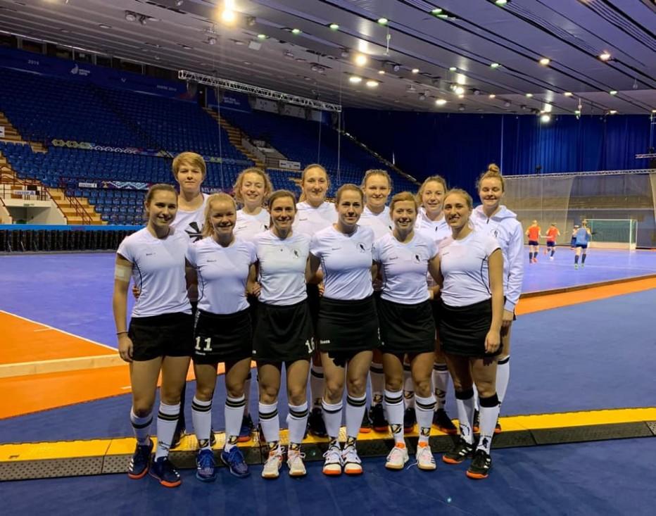 Die deutsche Hockey-Nationalmannschaft der Damen ist in Minsk bei der EM. © DHB hockey