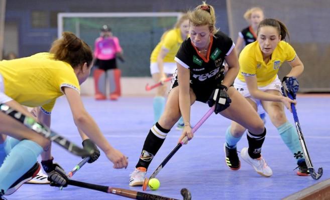 Gegen die Ukraine siegten die deutschen Damen mit 4:3. © Deutscher Hockeybund