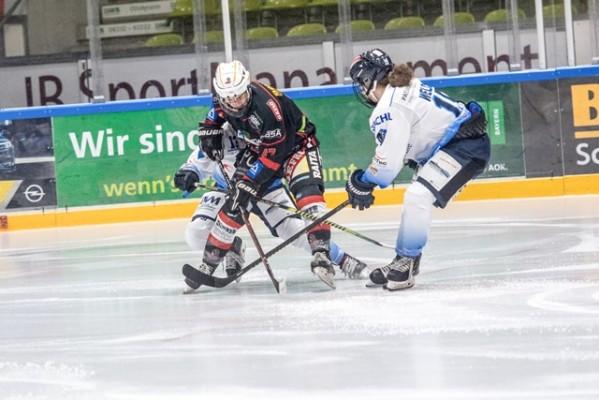Im letzten Spiel trifft Memmingen auf die ERC Ingolstadt Frauen. © ECDC Memmingen