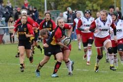 Lisa Bohrmann will wieder für die Rugby-Nationalmannschaft auflaufen. © TS-Fotodesign Berlin