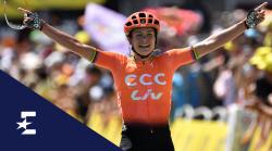 Eurosport überträgt 2020 zwei wichtige Rennen im Frauenradsport. © Getty Images/Eurosport