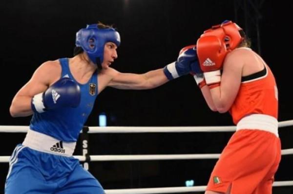 Boxerin Nadine Apetz wünscht sich, dass Olympia verschoben wird. © Nadine Apetz