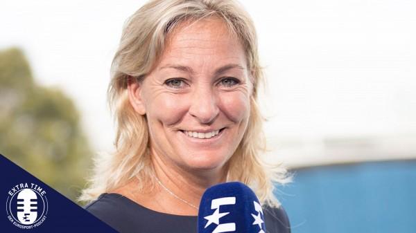 Barbara Rittner im Eurosport-Podcast über die Coronakrise im Tennis. © Eurosport