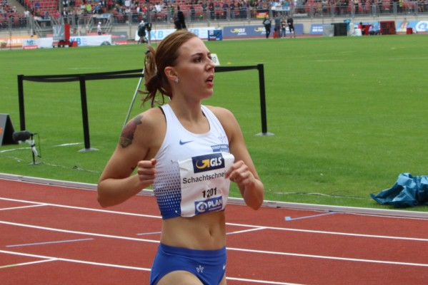 Maike Schachtschneider hat sich auf die 400-Meter-Sprintstrecke spezialisiert. © Marcel Merkel