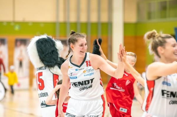 Luisa Geiselsöder spielt bald nicht nur in Frankreich – sondern auch in der WNBA. © Martin Fürleger