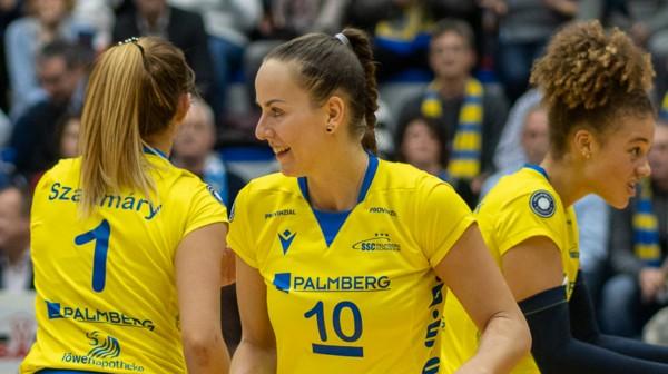 Athletensprecherin der VBL: Ex-Nationalspielerin Denise Hanke. © SSC Palmberg Schwerin